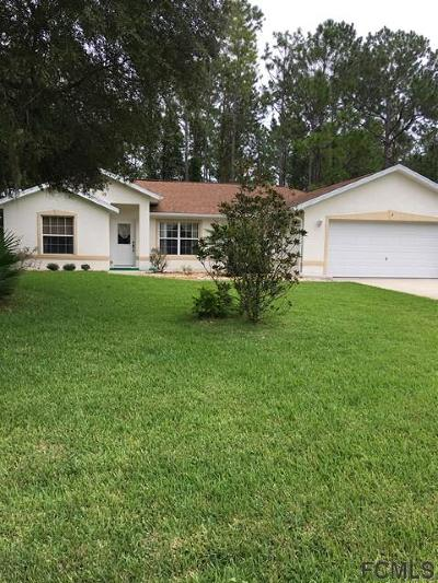 Seminole Woods Single Family Home For Sale: 9 September Place