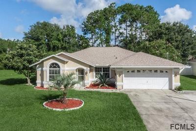 Palm Coast FL Single Family Home For Sale: $179,500