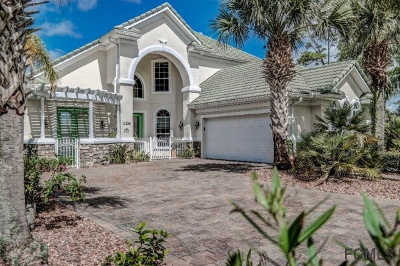 Palm Coast Plantation Single Family Home For Sale: 126 Heron Dr