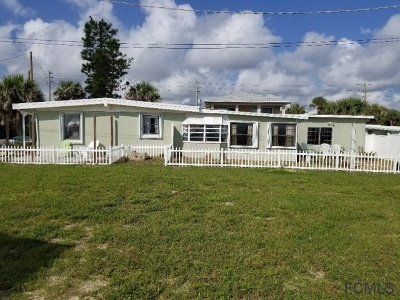 Flagler Beach Multi Family Home For Sale: 108 13th St S