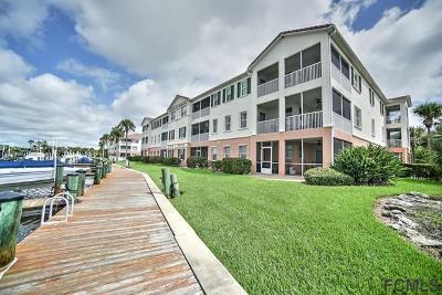 Flagler Beach Condo/Townhouse For Sale: 300 Marina Bay Drive #3