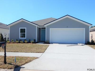 Bunnell Single Family Home For Sale: 137 Fairway Ct