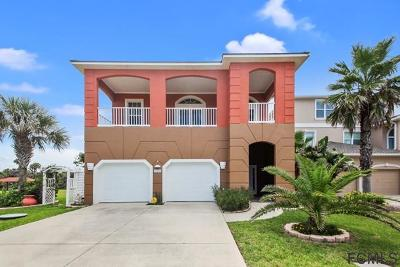 Flagler Beach Single Family Home For Sale: 3454 Ocean Shore Blvd N