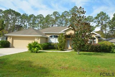 Palm Coast FL Single Family Home For Sale: $269,900