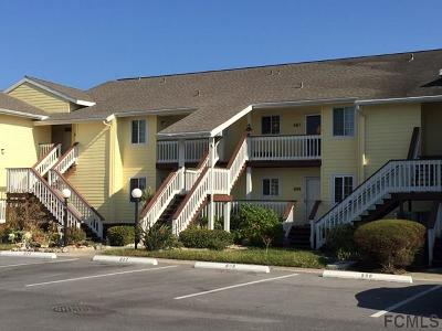 Flagler Beach Condo/Townhouse For Sale: 611 Ocean Marina Drive #611