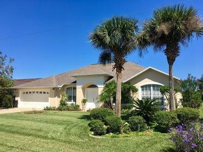 Palm Coast FL Single Family Home For Sale: $322,500