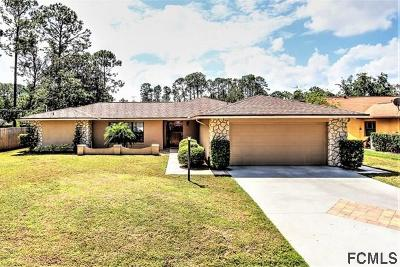 Palm Coast, Flagler Beach Single Family Home For Sale: 54 Berkshire Ln