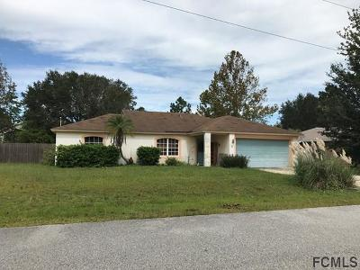 Palm Coast Single Family Home For Sale: 3 Ultra Place