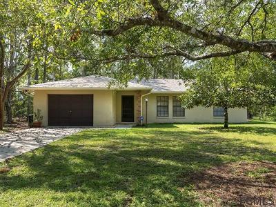 Seminole Woods Single Family Home For Sale: 15 Utica Path