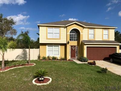 Palm Coast Single Family Home For Sale: 24 Firethorn Lane