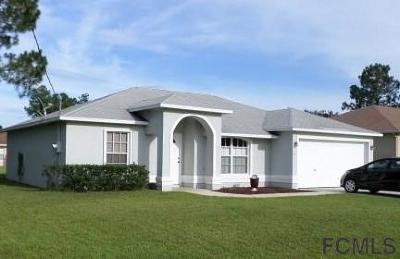Palm Coast FL Single Family Home For Sale: $154,900