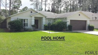 Flagler County Single Family Home For Sale: 70 Ryland Drive