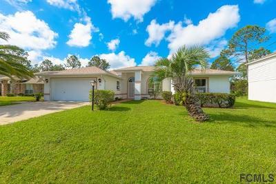 Palm Coast Single Family Home For Sale: 36 Princess Rose Dr