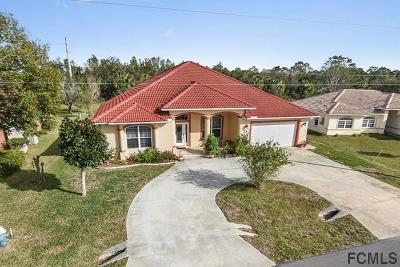Palm Coast Single Family Home For Sale: 45 Fieldstone Ln