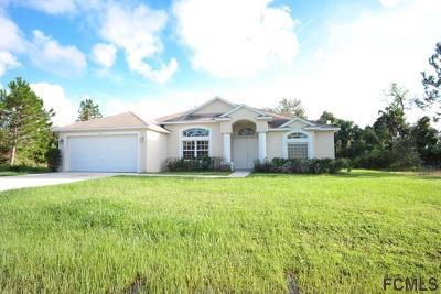 Palm Coast Single Family Home For Sale: 92 Ulysses Trl