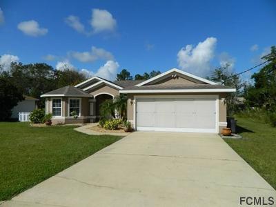 Palm Coast FL Single Family Home For Sale: $239,900