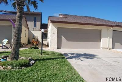 Flagler Beach Condo/Townhouse For Sale: 1741 N Central Ave #4B