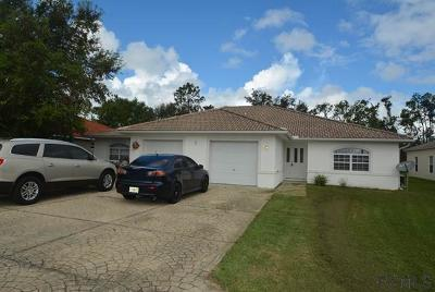 Palm Coast Multi Family Home For Sale: 9 Rosepetal Lane