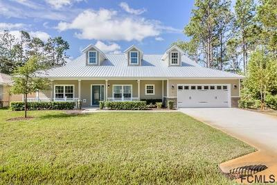 Palm Coast Single Family Home For Sale: 9 Pheasant Drive