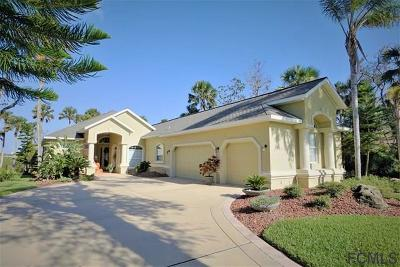 Palm Coast Plantation Single Family Home For Sale: 6 Riverwalk Dr N