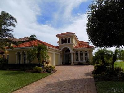 Palm Coast Plantation Single Family Home For Sale: 110 Emerald Lake Drive