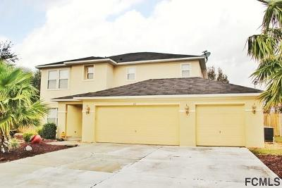 Palm Coast Single Family Home For Sale: 13 Louvet Lane