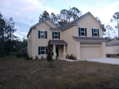 Palm Coast Single Family Home For Sale: 13 Red Oak Place
