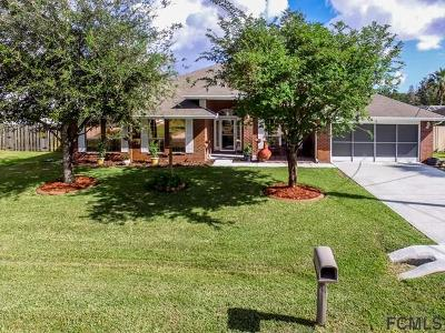 Palm Coast Single Family Home For Sale: 8 Buttonwell Ln