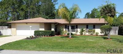 Palm Coast Single Family Home For Sale: 27 Whittier Lane
