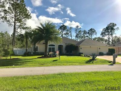 Palm Coast Single Family Home For Sale: 10 Smokehouse Place