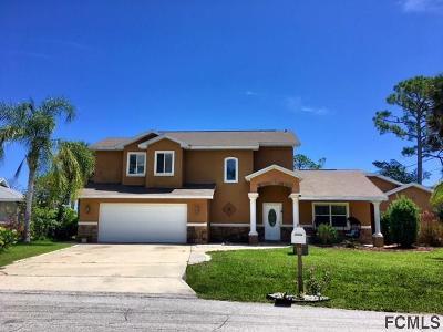 Palm Coast Single Family Home For Sale: 16 Covington Lane