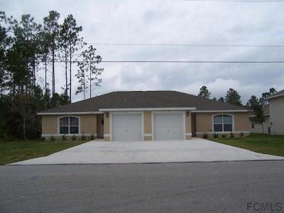 Palm Coast Multi Family Home For Sale: 7 Ryarbor Drive