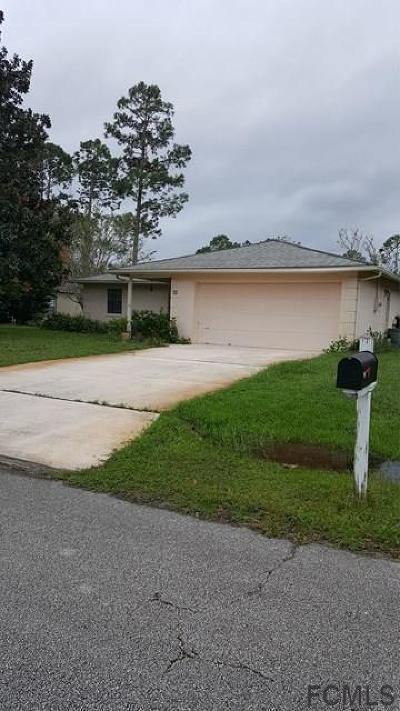 Palm Coast Single Family Home For Sale: 45 Bracken Lane