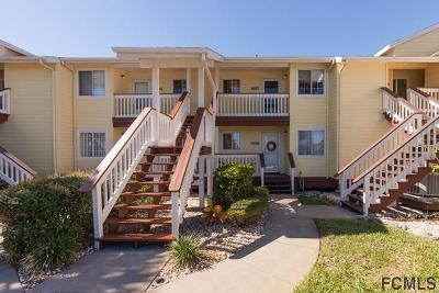 Flagler Beach Condo/Townhouse For Sale: 1007 Ocean Marina Drive #1007