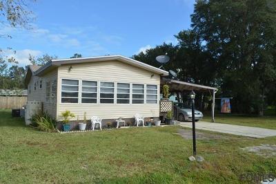 Bunnell Single Family Home For Sale: 88 Cheryl Elaine Drive