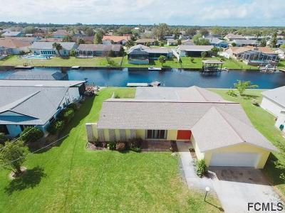 Palm Coast FL Single Family Home For Sale: $275,000