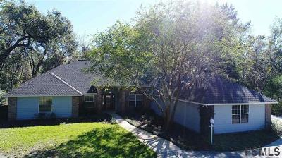 St Augustine Single Family Home For Sale: 795 Kings Estate Rd