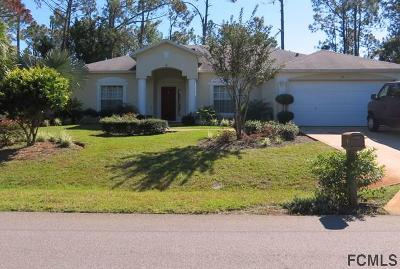 Palm Coast Single Family Home For Sale: 89 Radcliffe Drive