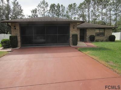 Palm Coast Single Family Home For Sale: 58 Westmoreland Drive