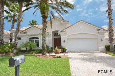 Hammock Dunes Single Family Home For Sale: 10 Montilla Place