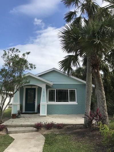 Flagler Beach Single Family Home For Sale: 1517 S Central Ave