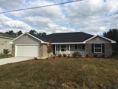 Palm Coast Single Family Home For Sale: 14 Bud Shire Lane
