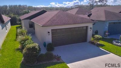 Flagler Beach Single Family Home For Sale: 48 Pebble Beach Cir