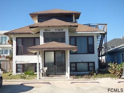Flagler Beach Multi Family Home For Sale: 607 Ocean Shore Blvd N