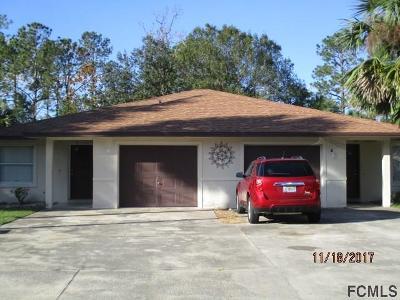 Palm Coast Multi Family Home For Sale: 43 Prosperity Lane