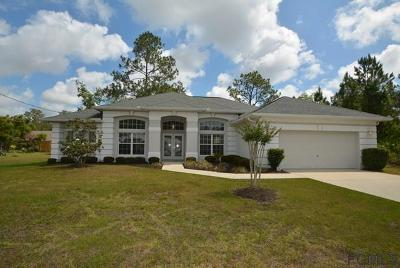 Palm Coast Single Family Home For Sale: 36 White Dove Ln