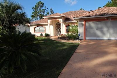 Palm Coast Single Family Home For Sale: 62 Whippoorwill Drive