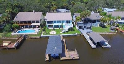 Flagler Beach Single Family Home For Sale: 323 Palm Dr