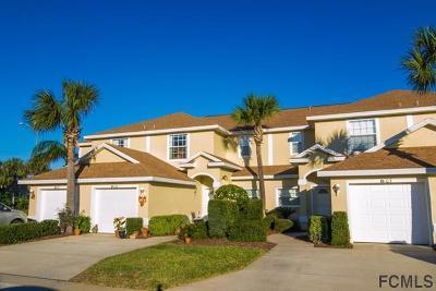 Flagler Beach Condo/Townhouse For Sale: 2001 Palm Dr #B 102