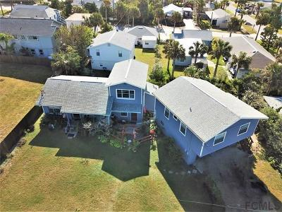 Flagler Beach Multi Family Home For Sale: 211 N 6th St N